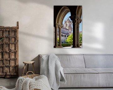 Klosterkirche und Kreuzgang in Alcobaça (Portugal) von Berthold Werner