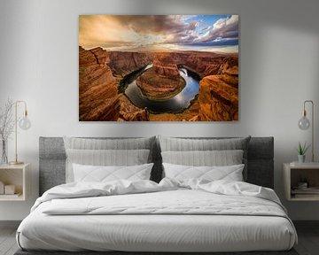 Horseshoe Bend 2 Arizona van Joram Janssen