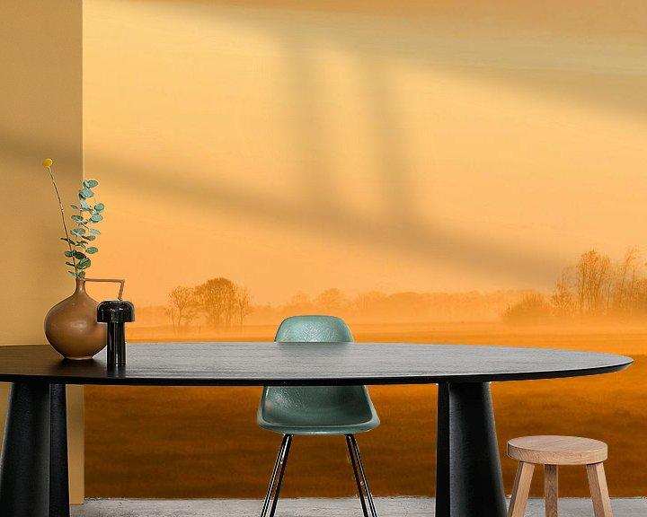 Beispiel fototapete: Silhouette von Johanna Varner