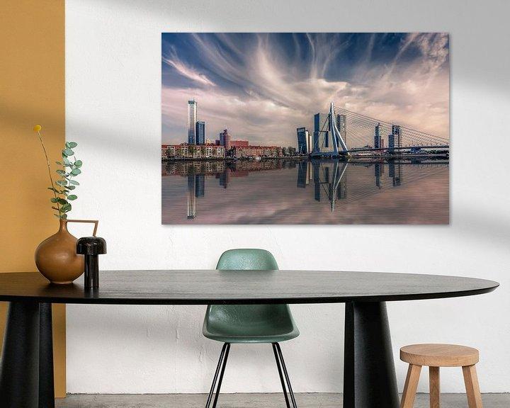 Sfeerimpressie: Rotterdam Skyline van Michiel Buijse