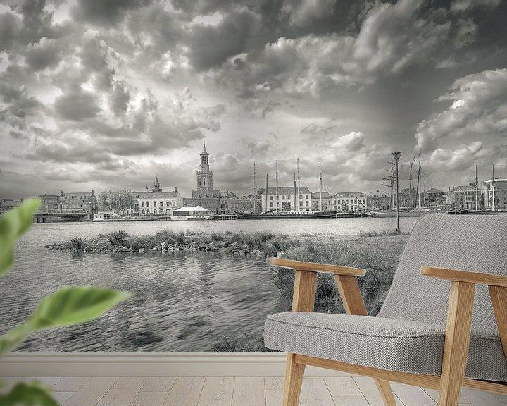 Sfeerimpressie behang: Kampen van Willem  Bentink