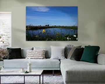 Nederlandse natuur water van Martine Overkamp-Hovenga