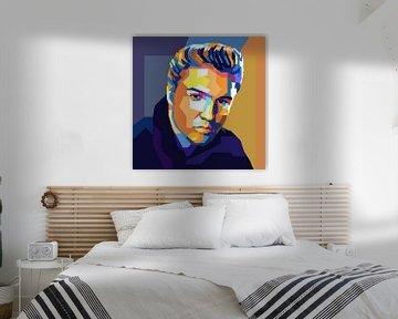 Elvis Presley Pop Art Schilderij