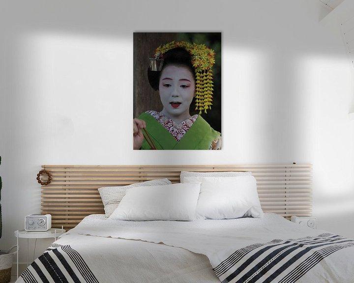 Beispiel: Geisha Kyoto von eric piel