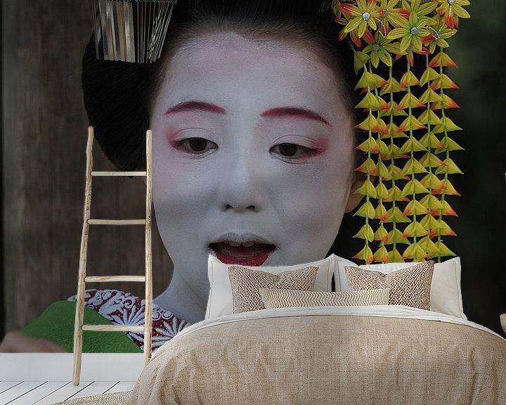 Beispiel fototapete: Geisha Kyoto von eric piel