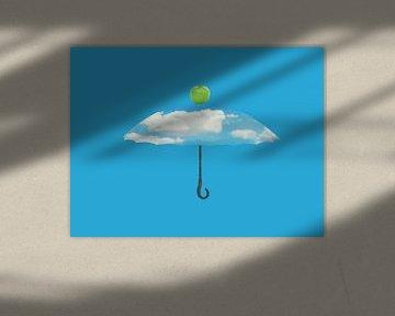 Der Regenschirm I von Catherine Fortin