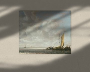 Ruhiges Meer, Simon de Vlieger