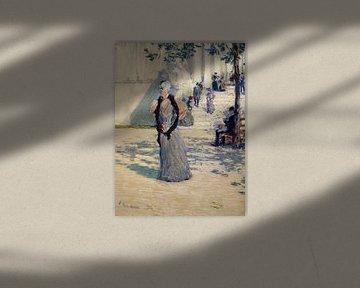 Childe Hassam, Personen im Sonnenlicht, 1893 von Atelier Liesjes