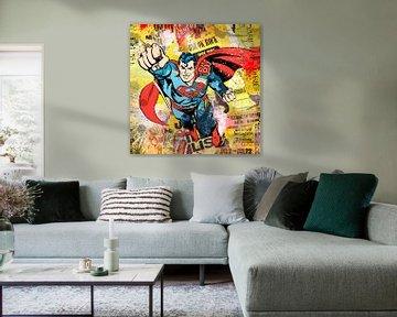 Superman van Rene Ladenius Digital Art