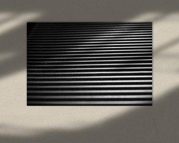 Schwarze und weiße Rippen von Rosanne Bussing