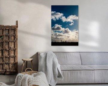 Middelburg Skyline unter 'Hollandse' Luft