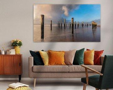 Het Palendorp in Petten aan zee van Arno van der Poel