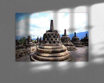 borobudur stupa 2
