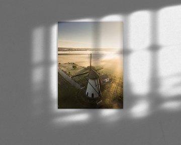 Le moulin à marais près de Lienden sur Albert Lamme