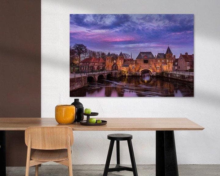Sfeerimpressie: Koppelpoort Amersfoort van Joram Janssen