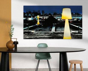 Seltsame Lampen von Ruben van Gogh