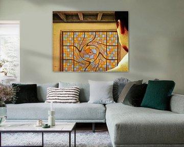 Blick auf den Mittelpunkt des Universums von Ruben van Gogh