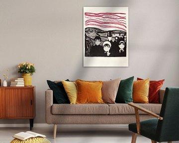 Edvard Munch, Angst von Atelier Liesjes