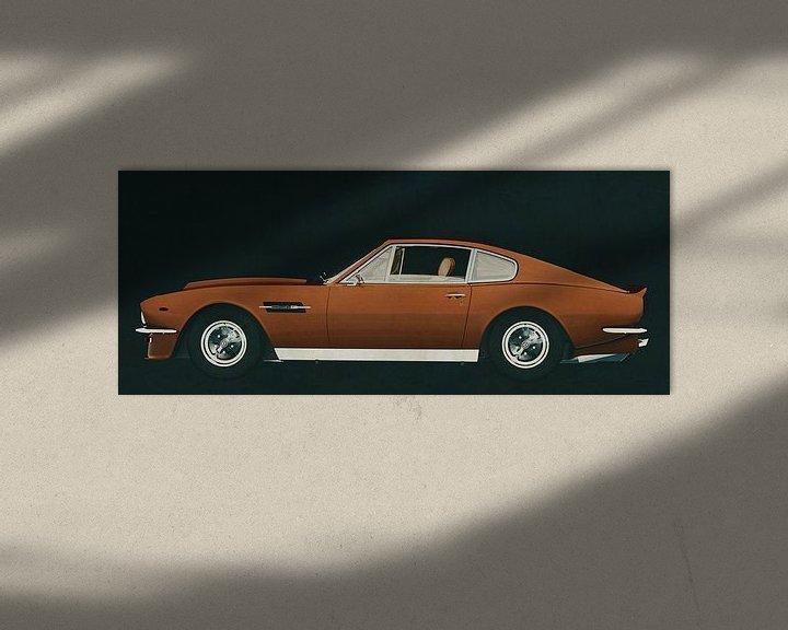 Sfeerimpressie: Aston Martin Vantage 1977 van Jan Keteleer