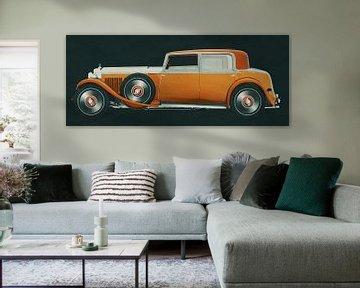 Bentley 8 liter uit 1931