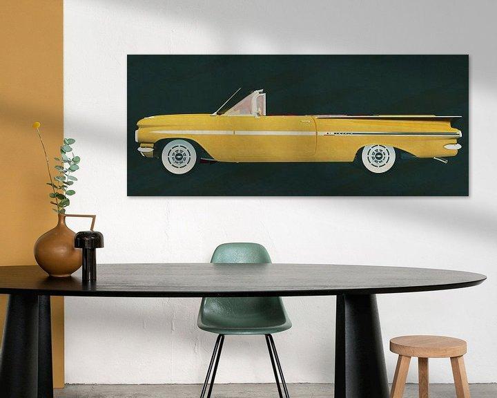 Sfeerimpressie: De Chevrolet Impala cabriolet 1959 van Jan Keteleer