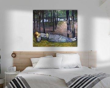 Emile Bernard, Madeleine im Wald der Liebe, 1888 von Atelier Liesjes