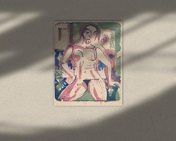 Ernst Kirchner, Nackte Frau, 1927