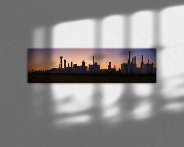 Botlek Skyline van Peet de Rouw