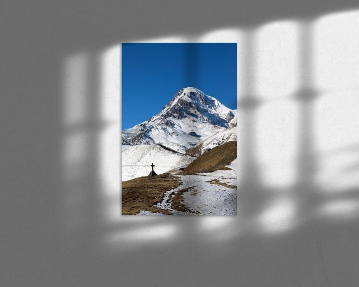 Sfeerimpressie: Kazbeg berg van Juul van Wandelen