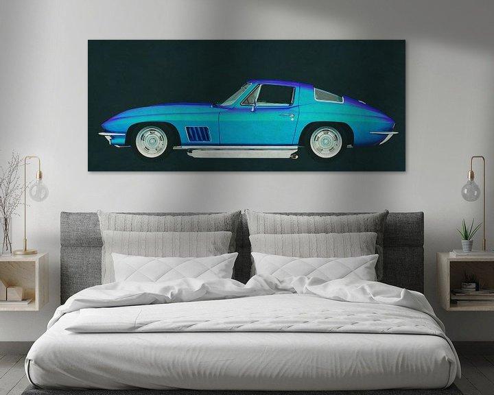 Sfeerimpressie: Chevrolette Corvette Stingray 427 1967 van Jan Keteleer