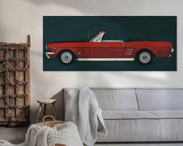 Sfeerimpressie: Ford Mustang Convertible uit 1964 van Jan Keteleer