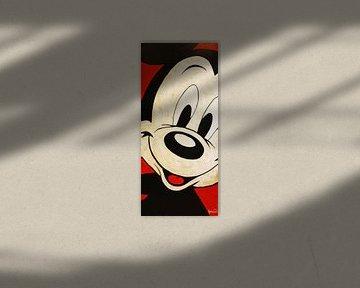 """Mickey Mouse """"Gesicht"""" von Kathleen Artist Fine Art"""