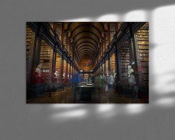 Bibliothek des Trinity College von Julian Buijzen