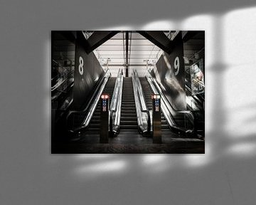 Escalators Rotterdam Central