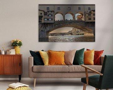 Ponte Vecchio van Pieter van der Zweep