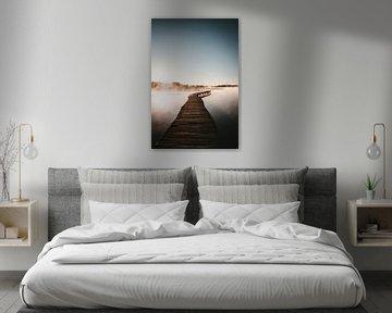 Een brug op wolken van Jessica Arends