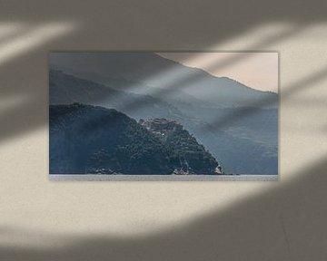 Cinque Terre van Pieter van der Zweep