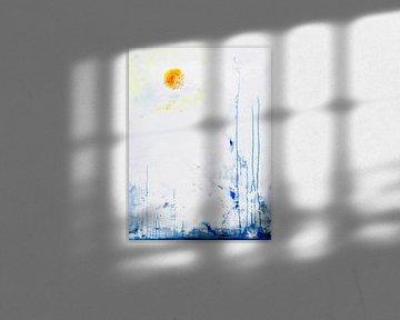 nebliger Sonnenaufgang 2020 von David Berkhoff