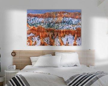 Winter im Bryce-Canyon-Nationalpark, Utah