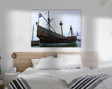 VOC Schip Lelystad von Nicky`s Prints