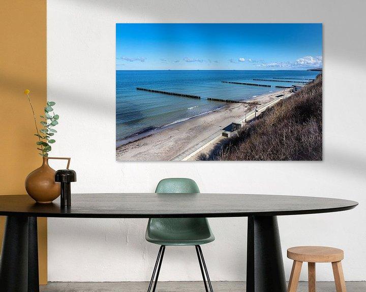 Beispiel: Strand an der Küste der Ostsee in Nienhagen von Rico Ködder