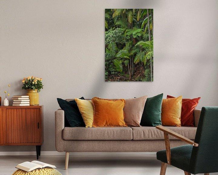 Beispiel: Dschungel Paradies Wald - Farn und Palmen von Jiri Viehmann