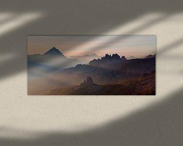 Dolomieten Panorama van Frank Peters
