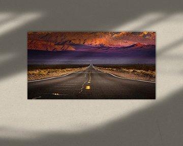Never ending road van Sander Wustefeld