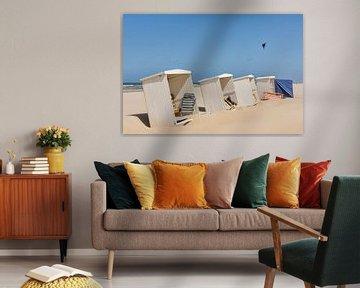 Strandhuisjes in Katwijk aan Zee