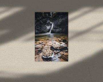 Buchenegger Waterval van Eduard Martin
