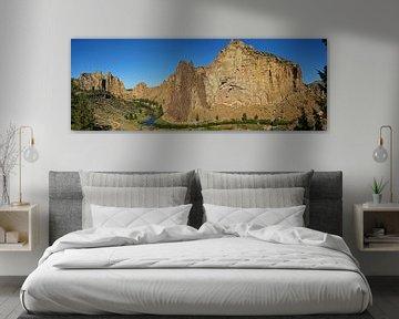 Smith Rock State Park, Oregon, USA van Jeroen van Deel