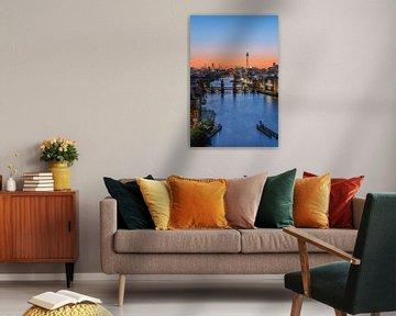 Berlijn Stad Skyline van Robin Oelschlegel