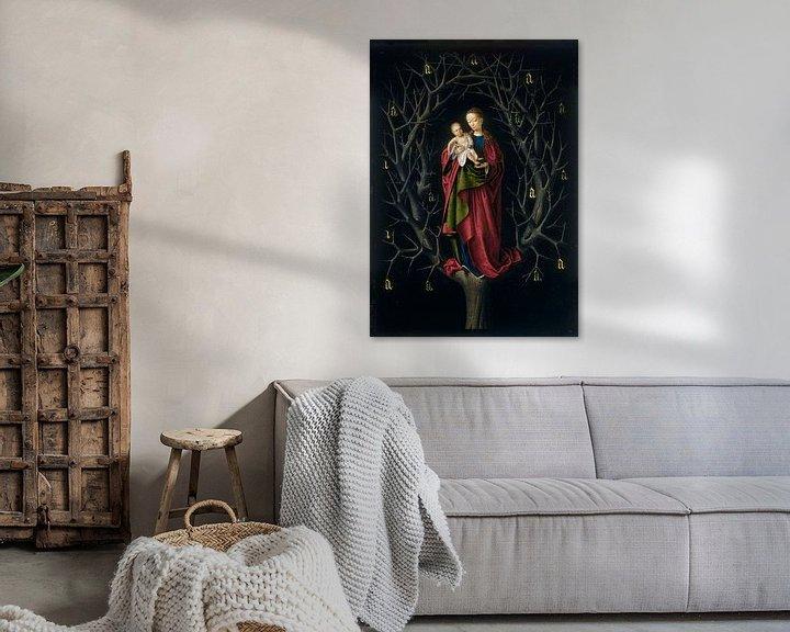 Beispiel: Die Jungfrau vom trockenen Baum, Petrus Christus