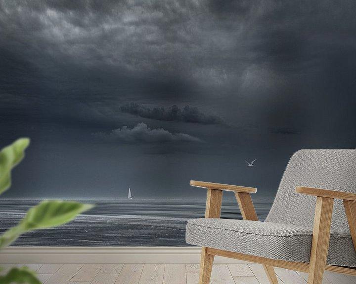 Beispiel fototapete: 3590 Momente vor dem Sturm von Adrien Hendrickx